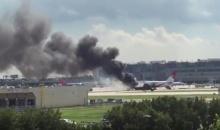 ระทึก! ไฟไหม้เครื่องบินไดนามิกแอร์เวย์ สนามบินไมอามี (มีคลิป)