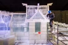 งานเทศกาลน้ำแข็งในเบลเยียมประสบปัญหาอากาศเดือน พ.ย. อุ่นผิดปกติ
