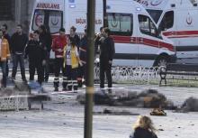 ด่วน!! เกิดระเบิดกลางนครอิสตันบูล เสียชีวิต 10 เจ็บ 15 ราย