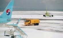 พายุหิมะทำประชาชนตกค้างเกือบ 90,000 คนที่เกาะในเกาหลีใต้