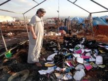 เครื่องบินรบถล่มค่ายผู้ลี้ภัยซีเรียสังเวย28ศพ