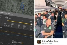 ระทึก!! เครื่องบินโดยสารของทีมฟุตบอลบราซิลตก! (คลิป)