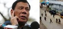 """ปธน.ฟิลิปปินส์ ประกาศกฎอัยการศึก  หลัง """"ไอเอส"""" ป่วนเมือง"""