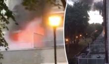 ด่วน!! ไฟไหม้ตึกในลอนดอน สั่งอพยพประชาชน 4 พันคน (ชมภาพ)