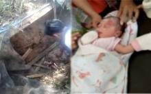 สุดเหี้ยม! ทารกน้อยถูกจับฝังดินทั้งเป็นในบ่อบำบัดน้ำเสีย โชคดีเจอปฏิหารย์! (คลิป)