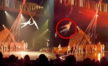 วินาทีช็อก!! นักกายกรรมหนุ่ม พลาดท่า ร่วงตกต่อหน้าคนดูนับพัน เสียชีวิตคาเวที!! (มีคลิป)