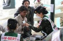 สุดประทับใจ! ชาวเนปาลเข้าคิวแน่น เพื่อให้แพทย์ทหารไทยช่วยรักษา ขอให้ทุกคนปลอดภัย