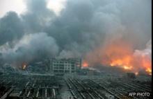 ชาวเน็ตแชร์ภาพชัดๆและคลิปจากเหตุระเบิดครั้งใหญ่ที่จีน สยองอย่างกับฉากในหนังฆาตรกรรม!