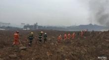 แผ่นดินถล่มที่เมืองเซินเจิ้นของจีน ทำลายอาคาร 22 แห่ง และยังมีผู้ติดอยู่ข้างใน