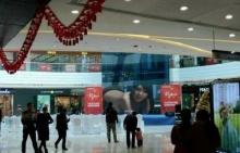 ผงะ!! หนังโป๊โผล่จอยักษ์กลางห้างดังในจีน