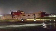 เกิดอุบัติเหตุเครื่องบินเฉี่ยวชนที่สนามบินในกรุงจาการ์ต้า อินโดนีเซีย