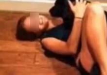 วิปริต!!ตร.จับสาวมีเซ็กซ์กับหมาพิตบูลล์ฉลองวันเกิด