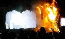 ไฟไหม้เวทีคอนเสิร์ต Tomorrowland ในประเทศสเปน!!