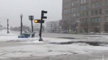 พายุหิมะ ระเบิดไซโคลนถล่มมะกัน ฟลอริดา อ่วมสุดรอบ29ปี หลายเมืองถนนเป็นน้ำแข็ง