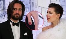 หมั้นแล้ว! ชาร์ลอต พระธิดาเจ้าหญิงโมนาโกสวมแหวนเพชรเม็ดเป้งควงคู่โปรดิวเซอร์ภาพยนตร์