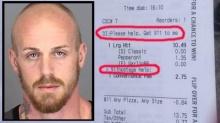 สุดยอด!! หญิงถูกจับเป็นตัวประกัน เนียนขอความช่วยเหลือด้วยการสั่งพิซซ่า