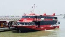 เจ็บอื้อ!! เรือเฟอร์รี่ฮ่องกงชนวัตถุปริศนา..เจ็บกว่า 124 ราย