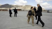 รัฐมนตรีต่างประเทศสหรัฐเยือนอัฟกานิสถานโดยไม่แจ้งล่วงหน้า