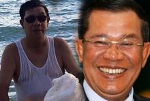 ฮุนเซน ลั๊ลลาเล่นน้ำริมทะเล เผยเที่ยวได้ไม่ต้องกลัวก่อการร้าย