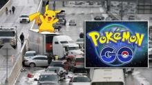 งามไส้ เกิดอุบัติเหตุกลางทางหลวงเพราะหนุ่มหยุดรถจับปิกาจูใน Pokemon Go