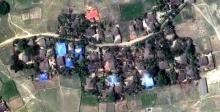 เปิด! ภาพถ่ายดาวเทียม หมู่บ้านโรฮิงญาในยะไข่ ถูกกองทัพเมียนมาเผาล้างบาง