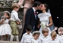 """ภารกิจสำคัญ!เจ้าชายจอร์จ-เจ้าหญิงชาร์ลอตต์ ร่วมพิธีแต่งงาน""""ปิปปา มิดเดิลตัน"""""""