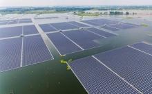 เปลี่ยนเหมืองถล่มเป็นโซลาร์ฟาร์มลอยน้ำใหญ่ที่สุดในโลก