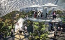 อลังการเว่อร์!!! สิงคโปร์ทุ่มงบปรับโฉมสนามบินชางฮี รักษามาตรฐานสนามบินระดับโลก! (มีคลิป)