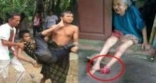หนุ่มวัย 20 ทุบตีแม่วัย 78 ใช้มีดตัดข้อเท้าแม่ขาดวิ่น พอรู้สาเหตุที่ทำ? ไม่รู้จะหาคำไหนมาด่า!!