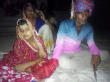 ช็อก! เด็กหญิงวัย 6 ขวบ เข้าพิธีแต่งงานหนุ่มคราวพ่อ เพราะถูกครอบครัวบังคับ ไม่รอดตร.จับกุม