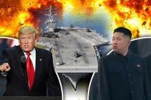 ท่านผู้นำคิมระทึก!กองเรือรบสหรัฐ ตรึงกำลังคาบสมุทรเกาหลี ! (คลิป)