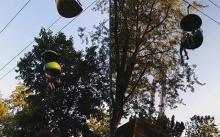 ระทึก!!! วัยรุ่นสาวมะกัน พลัดตกกระเช้าไฟฟ้ากลางสวนสนุก (มีคลิป)