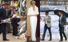 20 ปีผ่านไป.. เจ้าชายวิลเลียม-แฮร์รีมาวางดอกไม้รำลึกเจ้าหญิงไดอานา ณ จุดเดิม!! (มีคลิป)