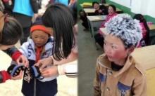 เงินบริจาคทะลุ 5 แสน!! ภาพเจ้าหนูหัวน้ำแข็งช็อตเดียว ช่วยเด็กชนบทบรรเทาหนาวได้ทั้งโรงเรียน!!