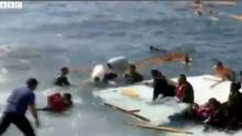 สลดซ้ำ!!!เรือผู้ลี้ภัย 300 ชีวิตล่มกลางทะเลเมดิเตอร์เรเนียนอีก