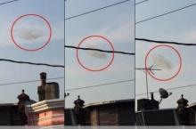 จริงหรือตัดต่อ!?พบเมฆประหลาด คาดเป็นจานบินUFO (มีคลิป)