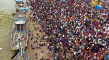 สลด! ผู้แสวงบุญอินเดียเหยียบกันตาย 27 ศพ ริมตลิ่งแม่น้ำศักดิ์สิทธิ์