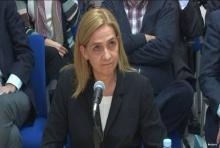 เจัาหญิงสเปนขึ้นศาลในคดีโกงภาษี