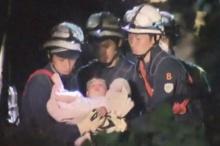 ชมคลิปสุดปาฏิหาริย์!! ญี่ปุ่น ช่วย'ทารก 8เดือนจากซากตึกแผ่นดินไหว