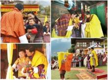 เจ้าชายน้อยจิกมี เสด็จวันชาติภูฏาน