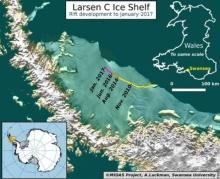 ละลายเร็วมาก!! แผ่นน้ำแข็งใหญ่ติด1ใน10ของโลก ใกล้จะแตกกแล้วว!!