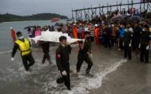 กู้ร่างเหยื่ออีก 26 ราย เครื่องบินทหารพม่าตกอันดามัน