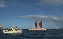 สุดยอด!! เรือแคนูฮาวาย จบการเดินทางแล้ว หลังเดินทางรอบโลกมาเป็นเวลา 3 ปี
