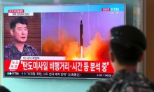 เกาหลีเหนือยิงขีปนาวุธตกในน่านน้ำญี่ปุ่น เหมือนท้าทายสหรัฐ!!