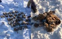 คดีน่าขนลุก!!! พบถุงปริศนาถูกทิ้งท่ามกลางหิมะ พอเปิดออกดูเจอมือมนุษย์ 54 ชิ้น!!