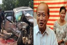 รถพระที่นั่งประสบอุบัติเหตุ สมเด็จกรมพระนโรดม รณฤทธิ์ เจ็บ พระชายาเสียชีวิต (คลิป)